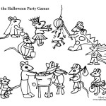 Mouse Halloween Party Games
