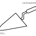 Spackle Knife