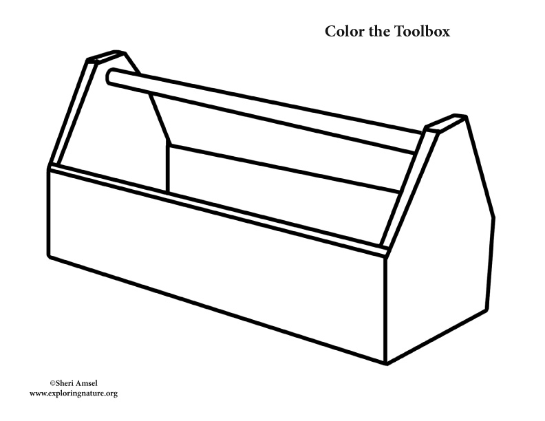Toolbox Coloring Nature